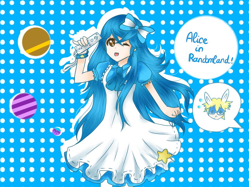 Alice in Randomland fanart by Nefery-san