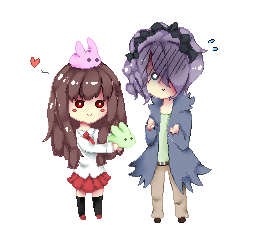 Ib And Garry pixel