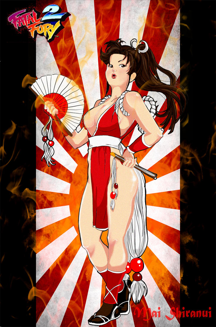 Mai Shiranui by LadyMignon
