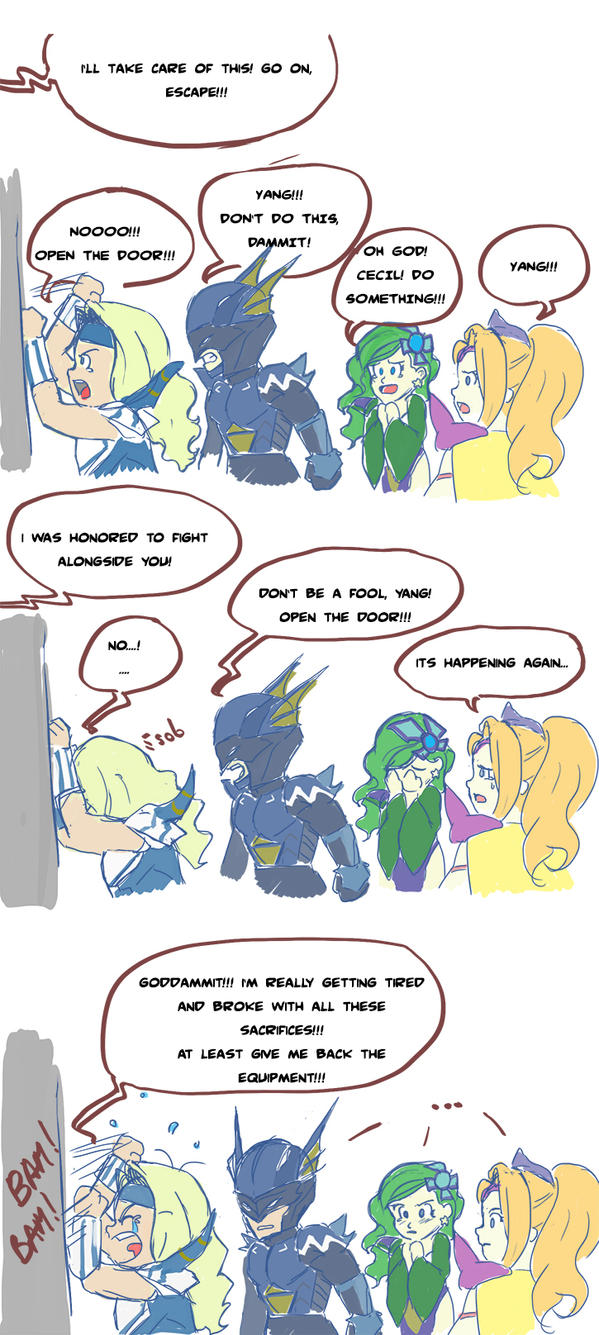 Cecil is broke - Comic by LadyMignon