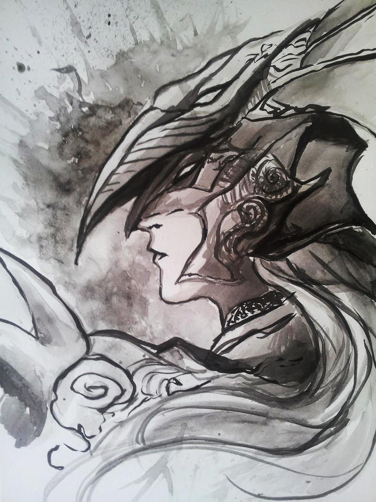 Kain - Final Fantasy IV by LadyMignon