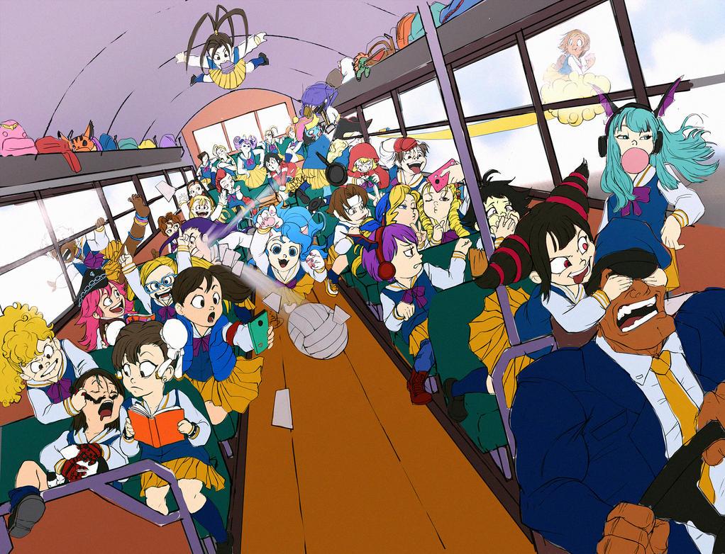 School trip by LadyMignon