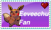 Eeveechu Fan Stamp by The-Insane-Puppeteer