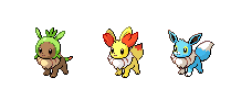 Starter  Pokemon For The Game by The-Insane-Puppeteer