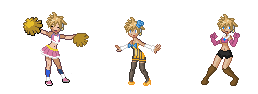 WIP Cross-Dressing len  Sprites by The-Insane-Puppeteer
