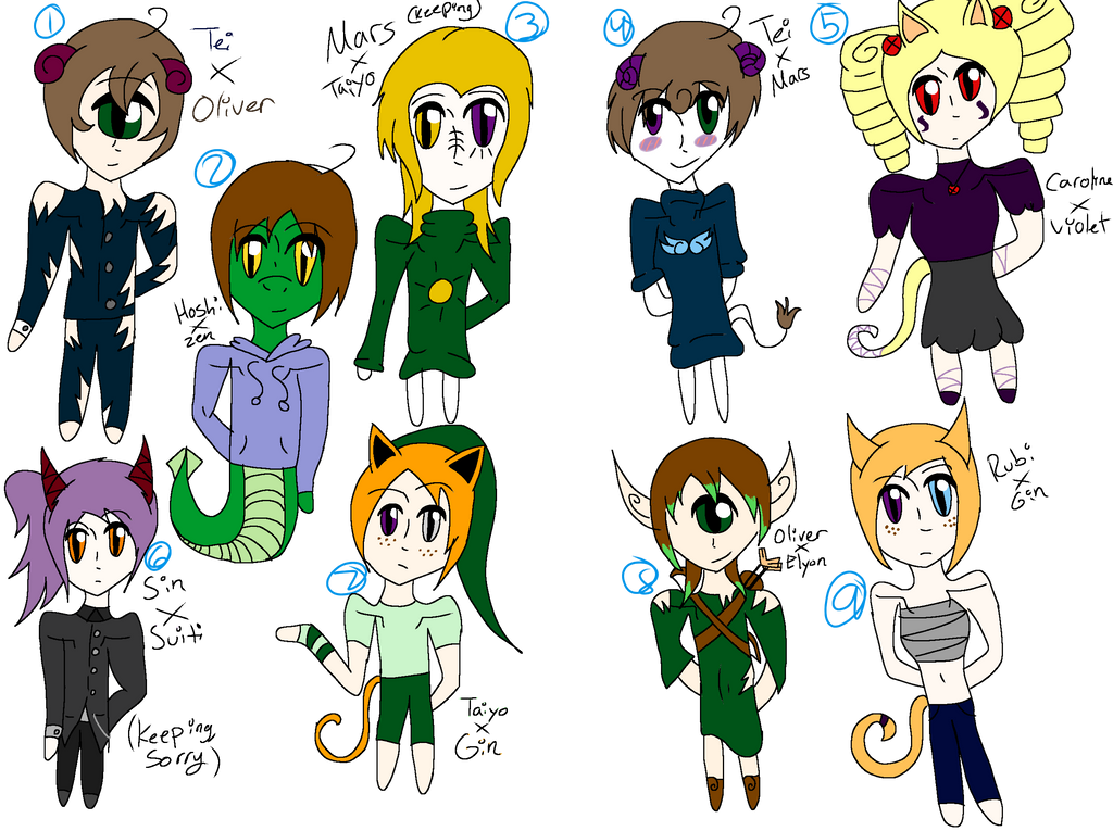 OC crack baby adoptables by The-Insane-Puppeteer