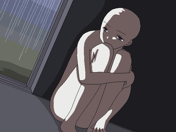 Sad Anime Couple Base – HD Wallpaper Gallery  |Anime Sad Base