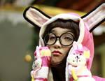 Sad bunny is sad