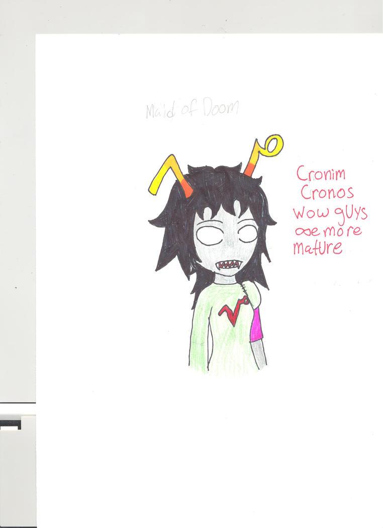 Cronim Cronos by naraku0014