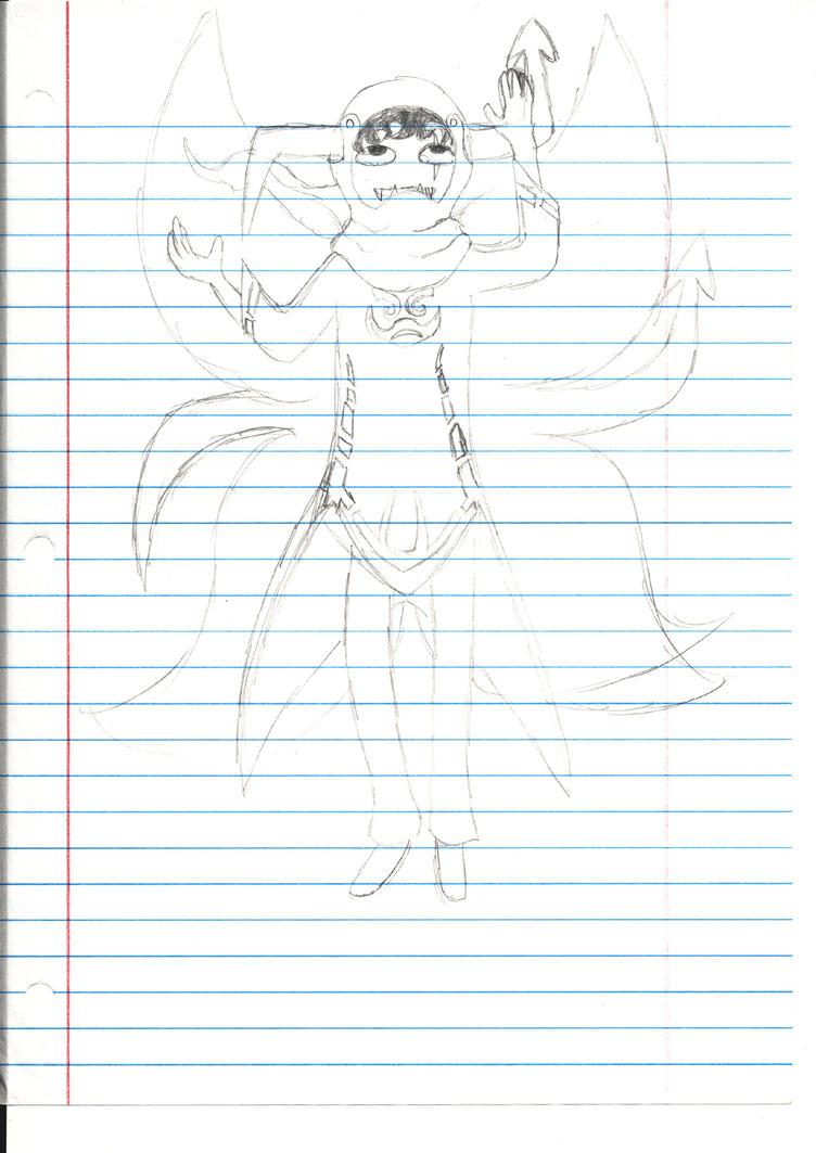 Iorics Cremat :Mage of Rage by naraku0014