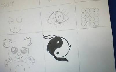 shit i drew afew years ago by naraku0014