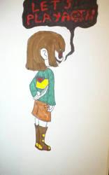 chara : LETS PLAY AGAIN by naraku0014