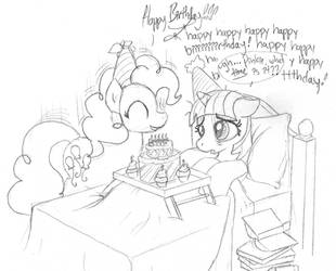 Twilight's Birthday by foxxy-arts