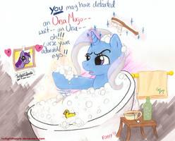 Trixie Tub Drama by foxxy-arts