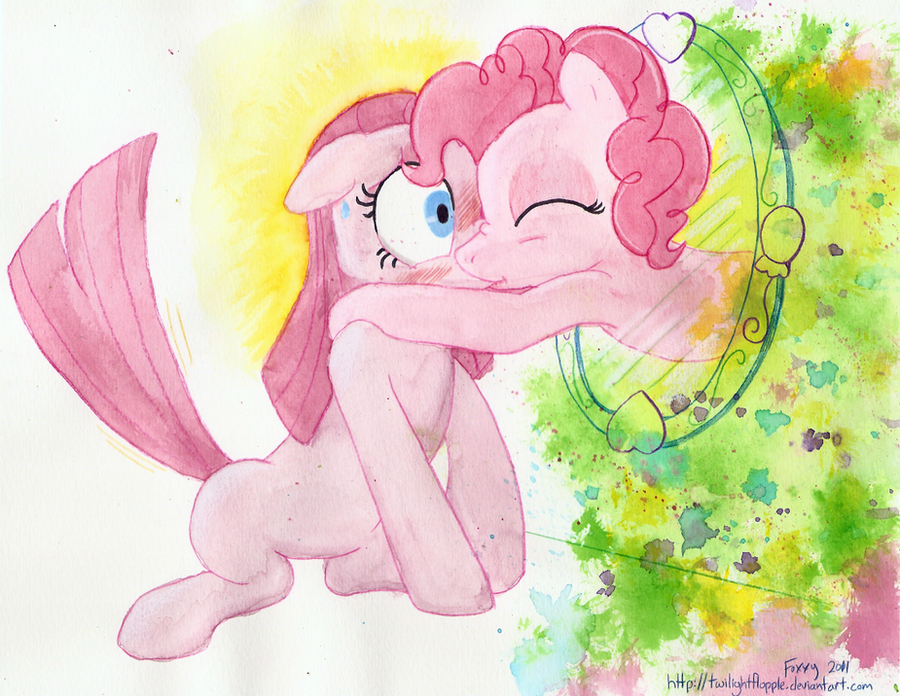 Cheer Up Pinkamina by TwilightFlopple