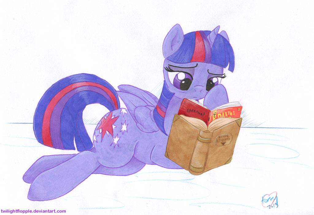 Down Time by TwilightFlopple