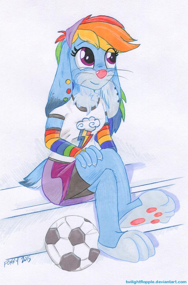 Rainbow Dash - Much Better by TwilightFlopple