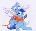 Blue Unicorns Forever