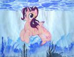 Starlight Swimmer by foxxy-arts