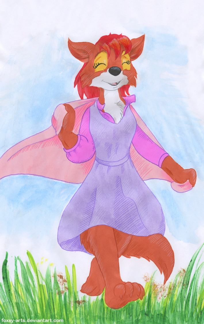 Bare Paws Marian by foxxy-arts