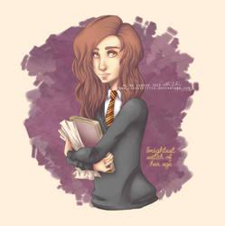 hermione by ClassyKitteh