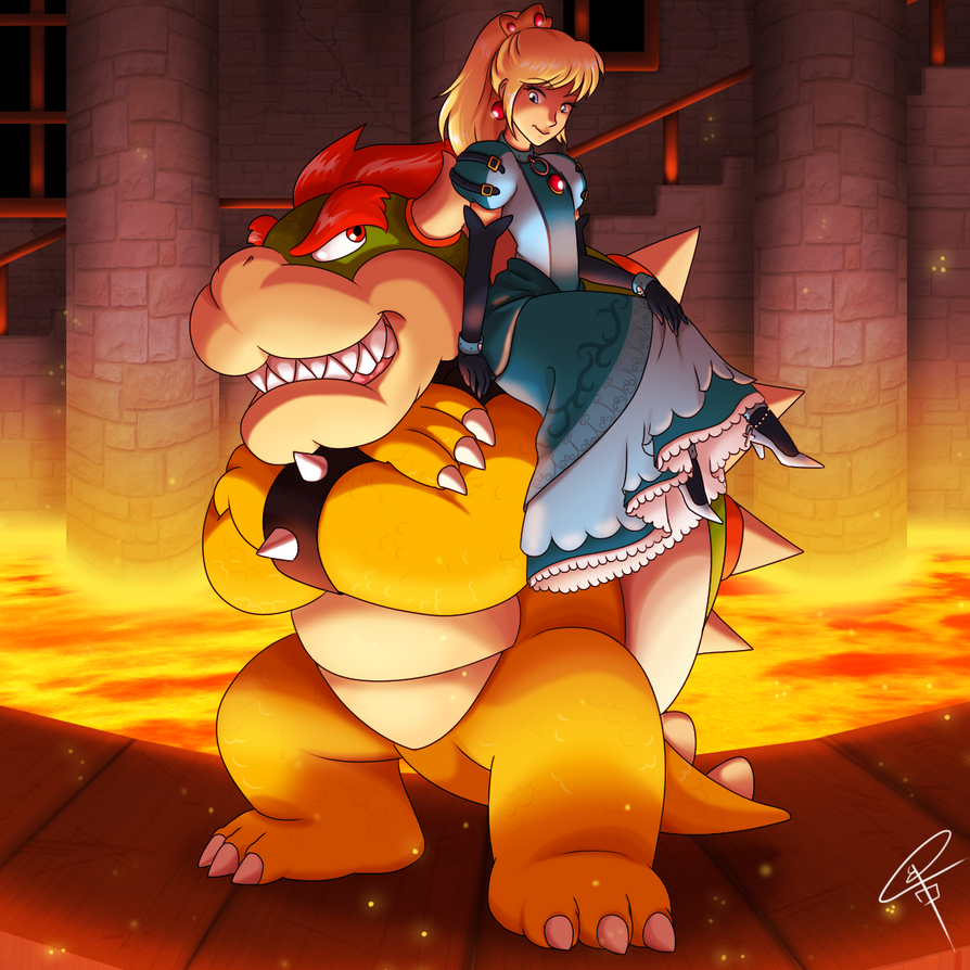 Nintendo Power Couple by BnGJessie