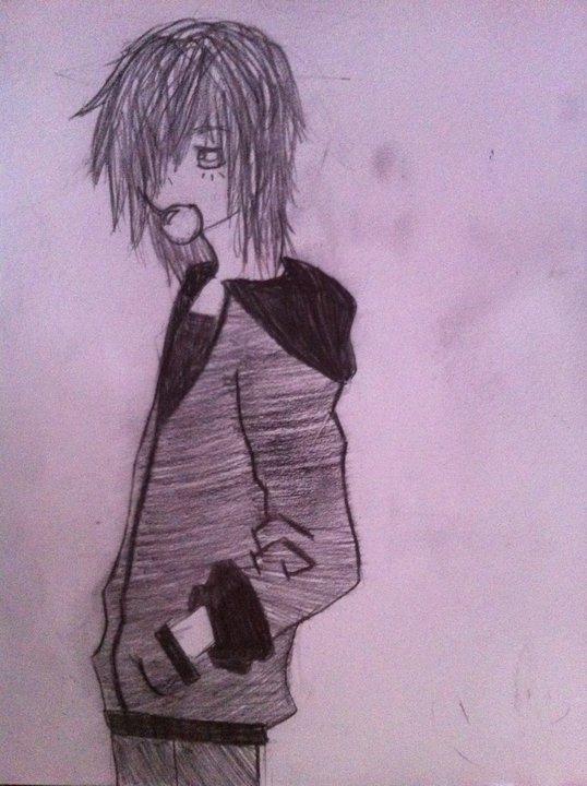 Anime Emo Boy By Elrictheshrimp On Deviantart