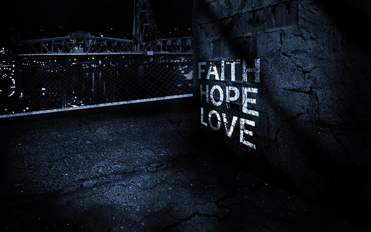 Hope briciole di teologia - Faith love hope pictures ...