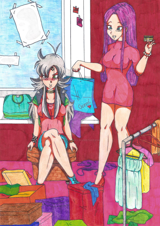 2nd OC Contest - Princess Lia and Panty by Iki-Fujisaka