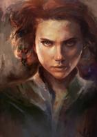 Black Widow by AngHuiQing