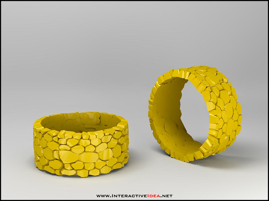 Rock Ring Design by zoomzoom