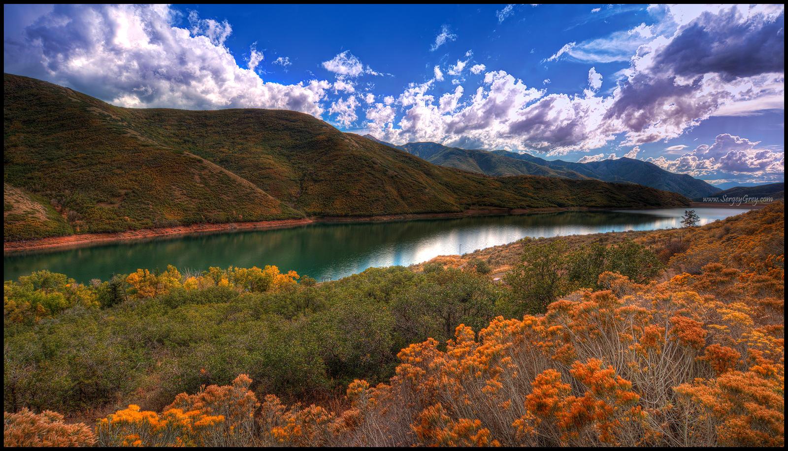 Orange Lake by zoomzoom