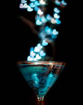 Shot of Blue