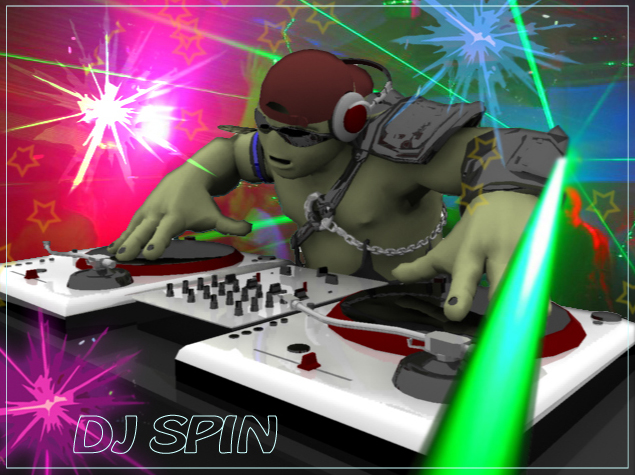 DJ Spin by zoomzoom
