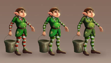 Hostler elf by Titanslicer