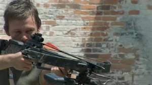 Daryl Dixon and Crossbow 2