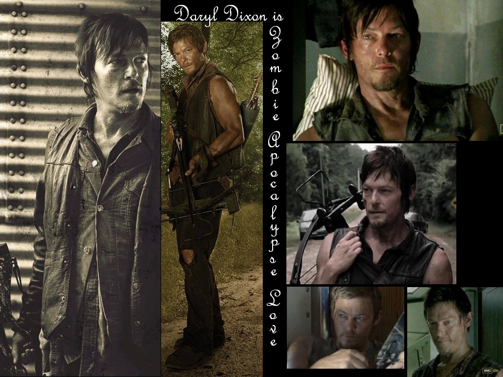Daryl Dixon Of TWD Wallpaper By ForsakenGrave89