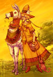 Daughter of the Sun by Sylfaenn