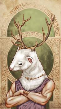 Celtic ferret god