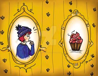 I think i saw a Cupcake