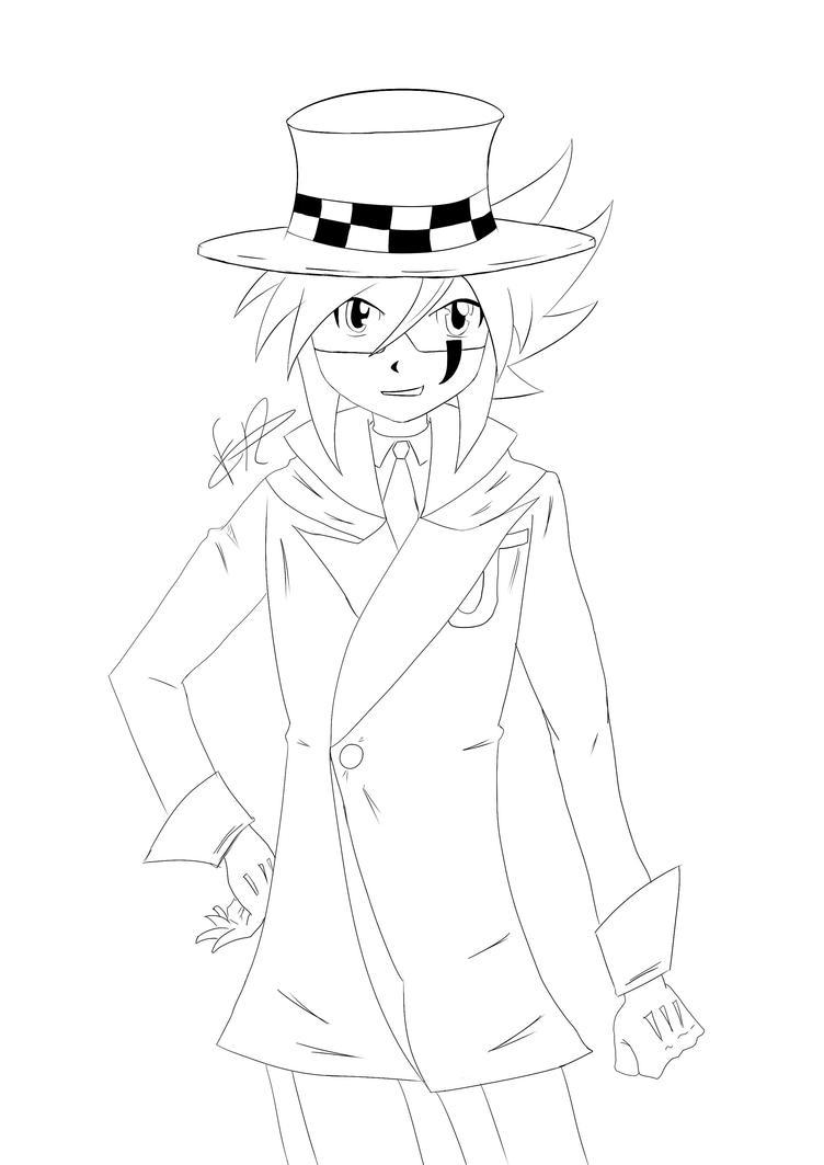 Line Art Joker : Line art joker kaitou by pauladraw on deviantart