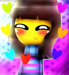Undertale Frisk Cute Chibi (FANART) by Sweetmilalove14