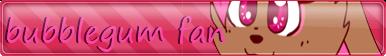 Bubblegum Button Fan (Oc Fan HTF) by Sweetmilalove14