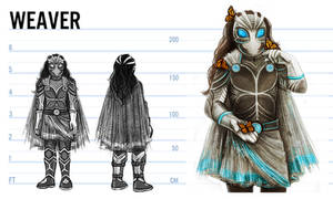 Weaver Costume Concept