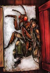 Cicada by lonsheep