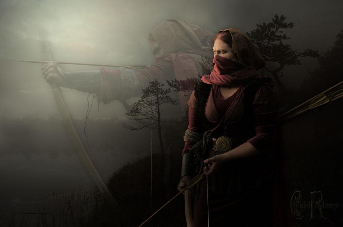 Haradrim Archer by CuielRilwen