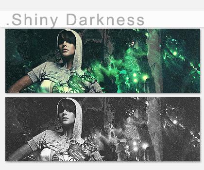 .Shiny Darkness by fodkito