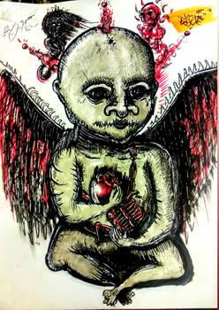 Baby death sketch