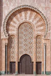 King Hassan Mosque II:Entrance