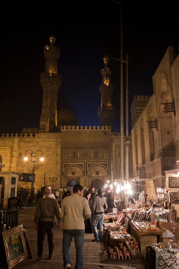 Al Azhar Mosque at Night by Mgsblade